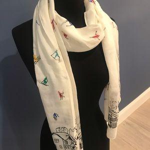 Skier Logo ski scarf
